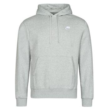 Ruhák Férfi Pulóverek Nike NIKE SPORTSWEAR CLUB FLEECE Szürke / Fehér