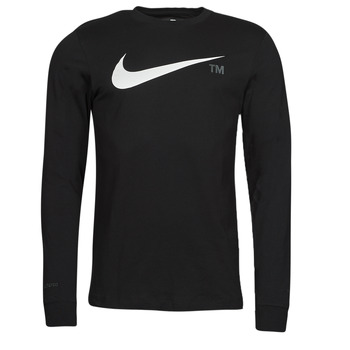 Ruhák Férfi Hosszú ujjú pólók Nike M NSW TEE LS GRX TEE Fekete