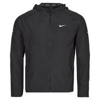 Ruhák Férfi Széldzseki Nike M NK RPL MILER JKT Fekete  / Ezüst