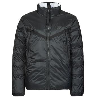 Ruhák Férfi Steppelt kabátok Nike M NSW TF RPL REVIVAL REV JKT Fekete  / Szürke