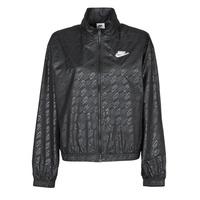 Ruhák Női Széldzseki Nike W NSW WVN GX JKT FTRA Fekete  / Fehér
