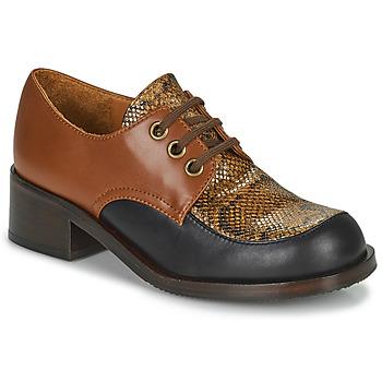 Cipők Női Mokkaszínek Chie Mihara TUDU Barna / Fekete
