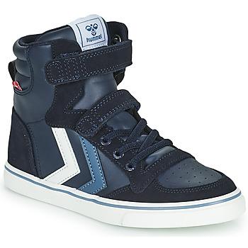 Cipők Gyerek Magas szárú edzőcipők Hummel SLIMMER STADIL JR Kék