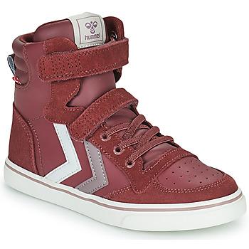 Cipők Lány Magas szárú edzőcipők Hummel SLIMMER STADIL JR Lila