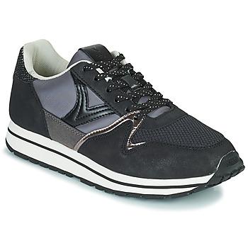 Cipők Női Rövid szárú edzőcipők Victoria INGLESA LONA Fekete
