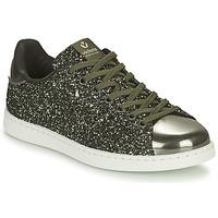 Cipők Női Rövid szárú edzőcipők Victoria TENIS GLITTER Keki / Ezüst