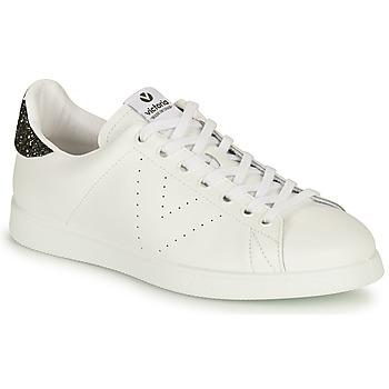 Cipők Női Rövid szárú edzőcipők Victoria TENIS PIEL Fehér / Ezüst