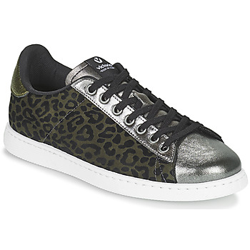 Cipők Női Rövid szárú edzőcipők Victoria TENIS LEOPARDO Keki