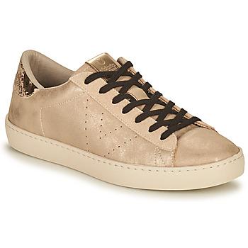 Cipők Női Rövid szárú edzőcipők Victoria BERLIN METAL Bézs