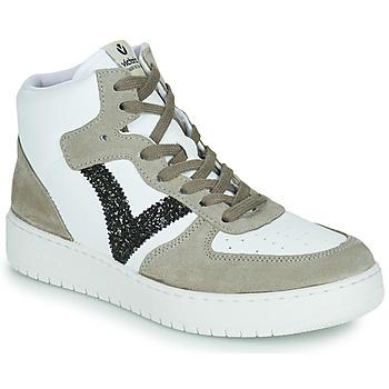 Cipők Női Rövid szárú edzőcipők Victoria SIEMPRE BOTIN SERRAJE Fehér / Keki