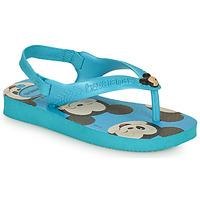 Cipők Fiú Lábujjközös papucsok Havaianas BABY DISNEY CLASSICS II Kék