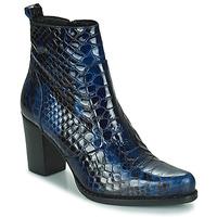 Cipők Női Városi csizmák Regard SALLY Fekete