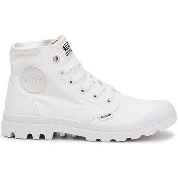 Cipők Férfi Magas szárú edzőcipők Palladium Manufacture Pampa HI Fehér