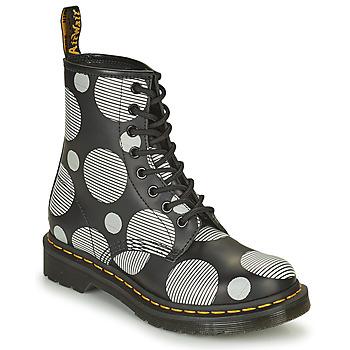 Cipők Női Csizmák Dr Martens 1460 Fehér / Szürke