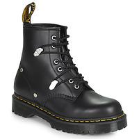 Cipők Női Csizmák Dr Martens 1460 BEX STUD Fekete