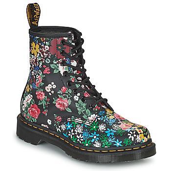 Cipők Női Csizmák Dr Martens 1460 PASCAL Fekete  / Sokszínű