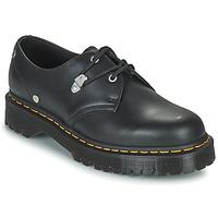 Cipők Női Oxford cipők Dr Martens 1461 BEX STUD Fekete