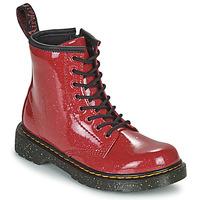 Cipők Lány Csizmák Dr Martens 1460 J Piros