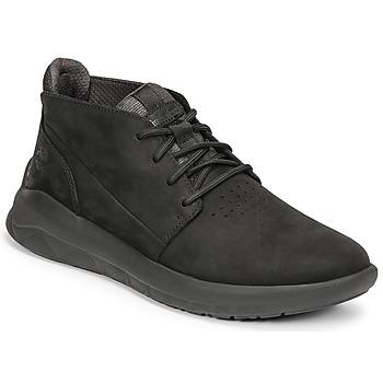 Cipők Férfi Magas szárú edzőcipők Timberland BRADSTREET ULTRA PT CHK Fekete