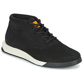 Cipők Férfi Magas szárú edzőcipők Timberland NITE FLEX CHUKKA 2 Fekete