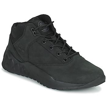 Cipők Férfi Magas szárú edzőcipők Timberland SOLAR WAVE SUPER OX Fekete