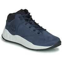 Cipők Férfi Magas szárú edzőcipők Timberland SOLAR WAVE SUPER OX Kék