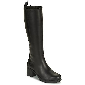 Cipők Női Városi csizmák Timberland DALSTON VIBE TALL BOOT Fekete