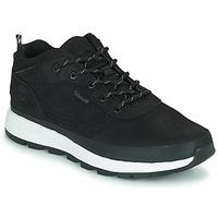 Cipők Gyerek Magas szárú edzőcipők Timberland FIELD TREKKER LOW Fekete