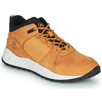 Cipők Gyerek Rövid szárú edzőcipők Timberland SOLAR WAVE LOW Búza