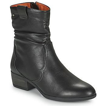 Cipők Női Bokacsizmák Pikolinos DAROCA Barna