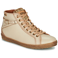 Cipők Női Magas szárú edzőcipők Pikolinos LAGOS Bézs