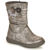 Cipők Lány Városi csizmák Chicco CAROL Ezüst