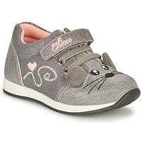 Cipők Lány Rövid szárú edzőcipők Chicco FLEXY Ezüst