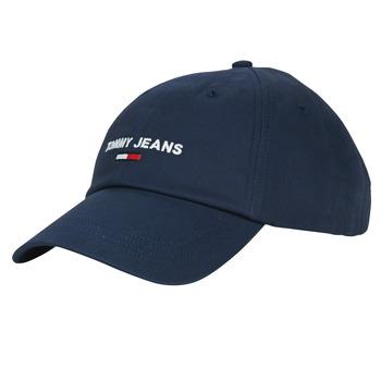 Textil kiegészítők Férfi Baseball sapkák Tommy Jeans TJM SPORT CAP Tengerész