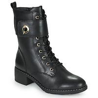 Cipők Női Bokacsizmák Tamaris SEEDRE Fekete  / Arany