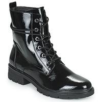 Cipők Női Bokacsizmák Tamaris LOUNI Fekete
