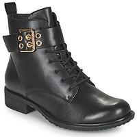 Cipők Női Csizmák Tamaris MOULIB Fekete
