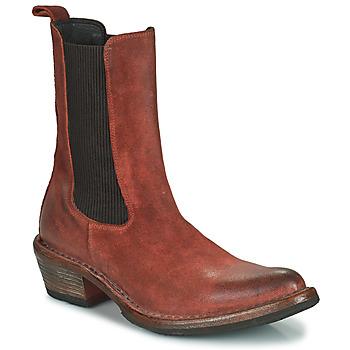 Cipők Női Bokacsizmák Moma DALLAS D Barna