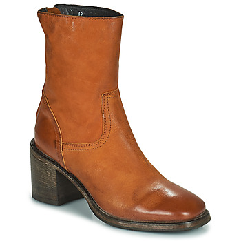 Cipők Női Bokacsizmák Moma NANINI Barna