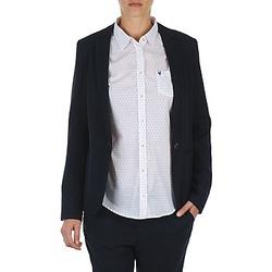 Ruhák Női Kabátok / Blézerek Marc O'Polo CLOTHILDE Tengerész