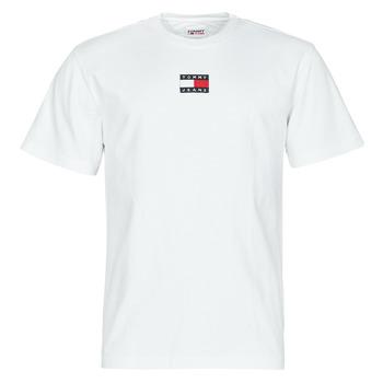 Ruhák Férfi Rövid ujjú pólók Tommy Jeans TJM TOMMY BADGE TEE Fehér