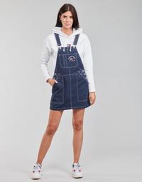 Ruhák Női Overálok Tommy Jeans TJW TIMELESS DUNGAREE DRESS Kék / Átlagos