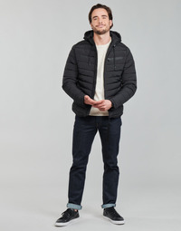 Ruhák Férfi Steppelt kabátok Redskins HARPER LUTETIA Fekete