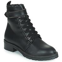 Cipők Női Csizmák The Divine Factory LH2247B Fekete