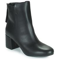 Cipők Női Bokacsizmák The Divine Factory LH2268 Fekete