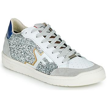 Cipők Női Rövid szárú edzőcipők Serafini SAN DIEGO Ezüst / Fehér
