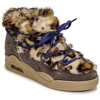 Cipők Női Csizmák Serafini MOON LOW Leopárd