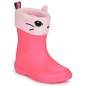 Cipők Lány Gumicsizmák Isotoner 99314 Rózsaszín