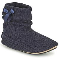 Cipők Női Mamuszok Isotoner 97720 Tengerész