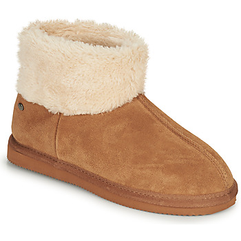 Cipők Női Mamuszok Isotoner 97307 Teve